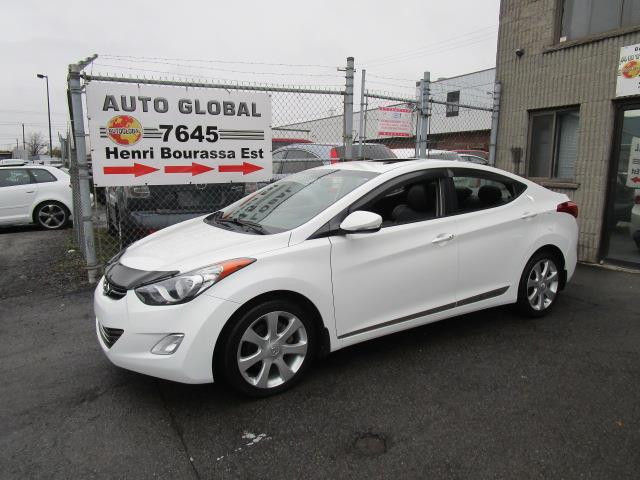 Hyundai Elantra 2011 LIMITED, TOIT,CUIR, NAVI, BAS KILOMÉTRAGE! #18-1656
