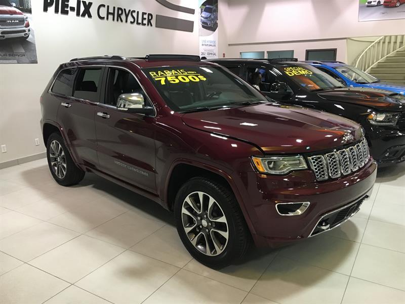 Jeep Grand Cherokee 2018 Overland #C18211