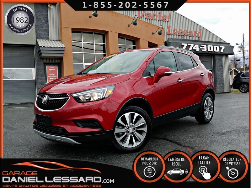 Buick Encore 2018 PREFERRED, FWD, 2X4, CUIR/TISSUS, CAM RECUL, WOW #88444