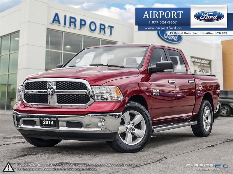 2014 Ram 1500 SLT 4WD Crew Cab with only 127,895 kms #A80803