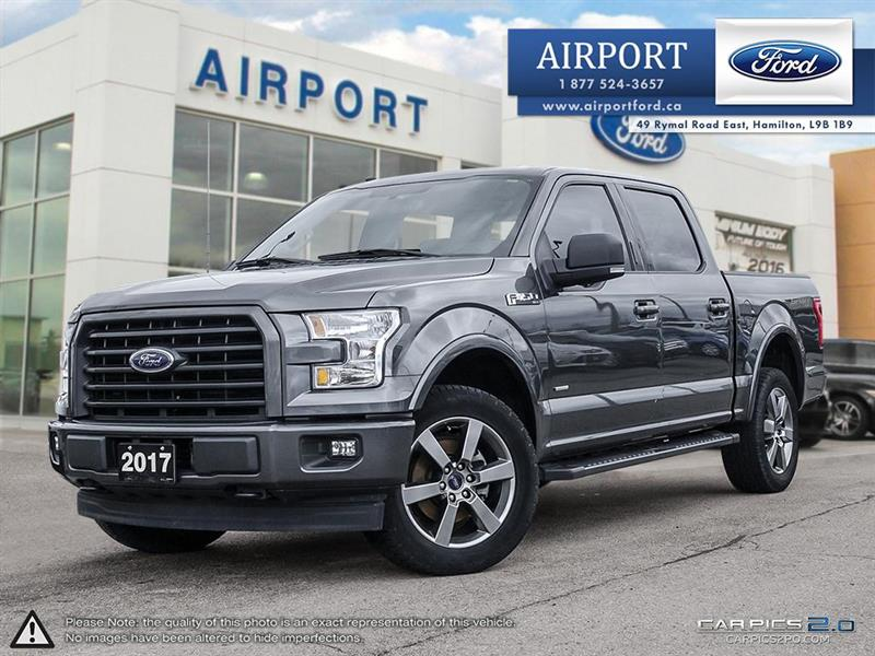 2017 Ford F-150 XLT SPORT 4x4 with only 53,560 kms #A80810