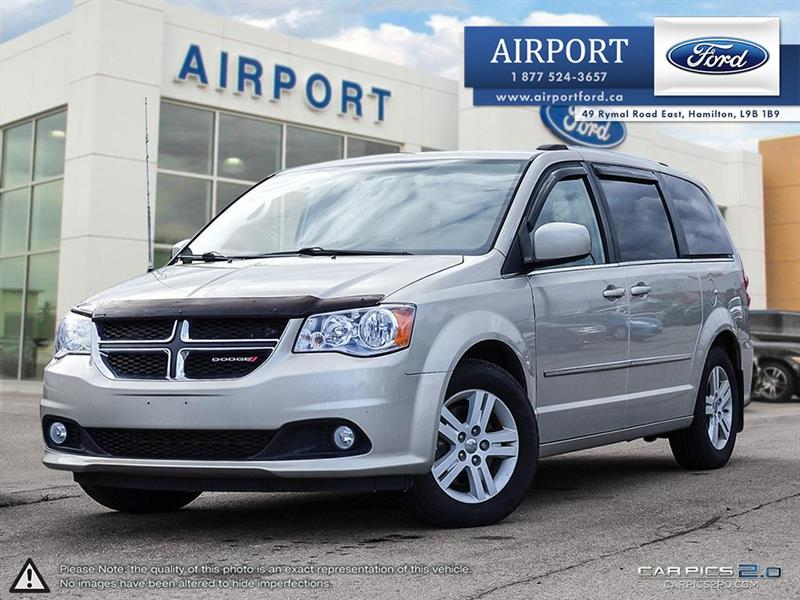 2014 Dodge Grand Caravan CREW with only 98,648 kms #A80783