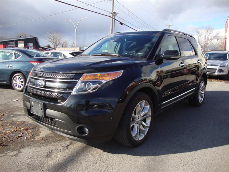 Ford Explorer 2013 LIMITED 4X4 NAV-TECH-PANO ROOF-20MAGS #M015
