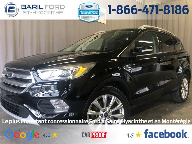 Ford Escape 2017 4WD 4dr Titanium #c6905
