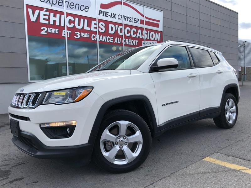 Jeep Compass 2018 North 4x4+MAGS+CUIR/TISSUS+WOW! #UD4963