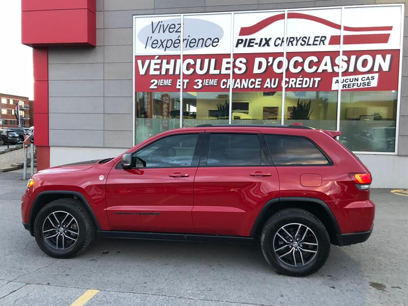 Jeep Grand Cherokee 2017 4WD 4dr Trailhawk+NAV+TOIT PANO+WOW! #18429A