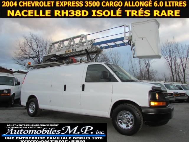 Chevrolet Express 3500 2004 CARGO ALLONGÉ NACELLE RH 38D ISOLE #0024