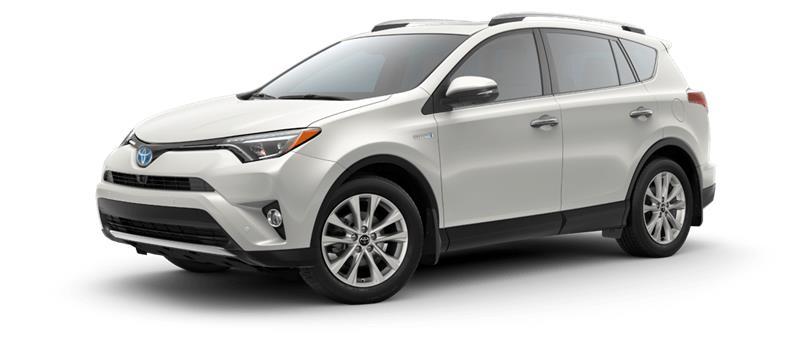 2018 Toyota RAV4 Hybrid AWD-i Limited #12249