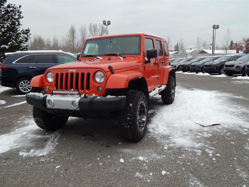 2015 Jeep Wrangler Unlimited 4WD 4dr Sahara #18029A