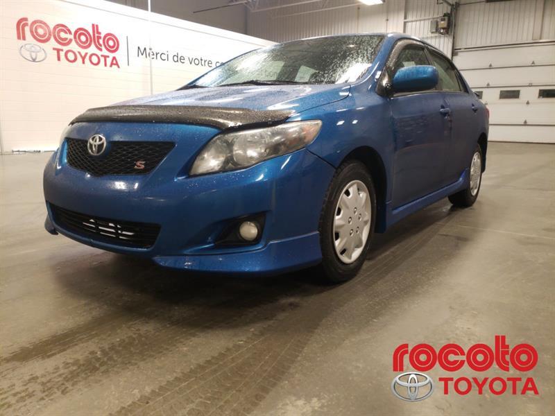 Toyota Corolla 2010 * S * GR ÉLECTRIQUES * AIR CLIMATISÉE * #80299B-41
