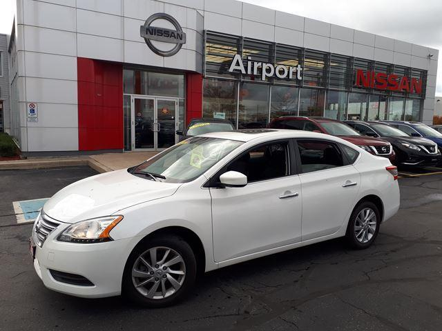 2014 Nissan Sentra SV LOADED,NAVI,ROOF,ALLOY,HEAT #P1723