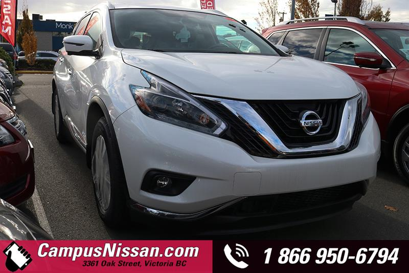 2018 Nissan Murano SL AWD w/ Leather & Moonroof Package #8-Q796