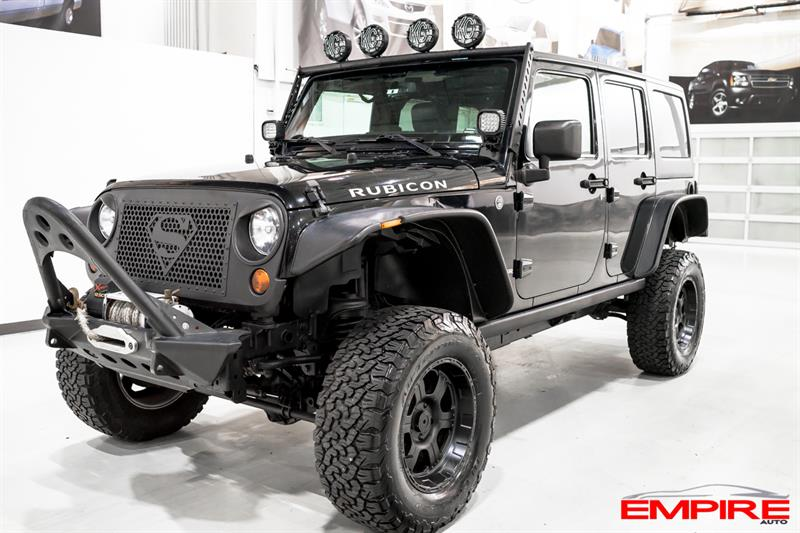 2013 Jeep Wrangler Unlimited 4WD RUBICON NAVIGATION #A6838-1