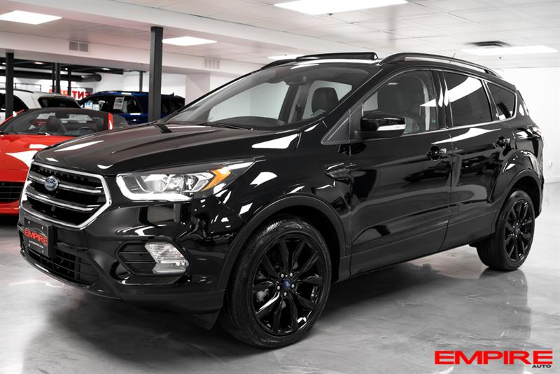 Ford Escape 2017 4WD Titanium SPORT BLACK #A6911