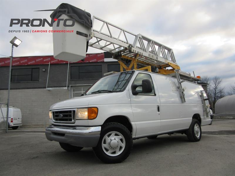 Ford Econoline Cargo Van 2007 E-350 Super Duty NACELLE RH38 #3775