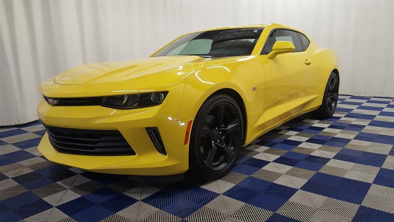 2017 Chevrolet Camaro 1LT/ACCIDENT FREE/REAR CAM #11HT97201A