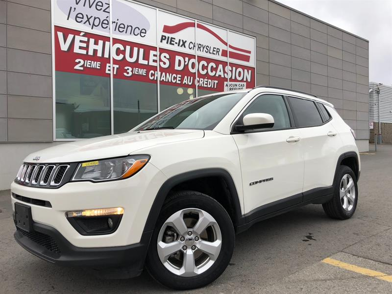 Jeep Compass 2018 North 4x4+MAGS+CUIR/TISSUS+WOW! #UD4964