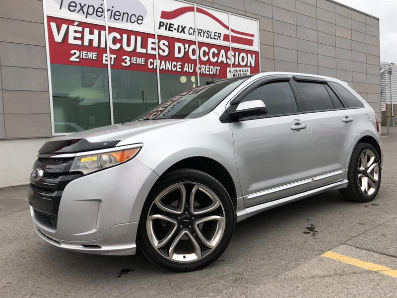 Ford EDGE 2011 4dr Sport AWD+CUIR+TOIT+NAV+MAGS 22 POUCE+WOW! #UD4945