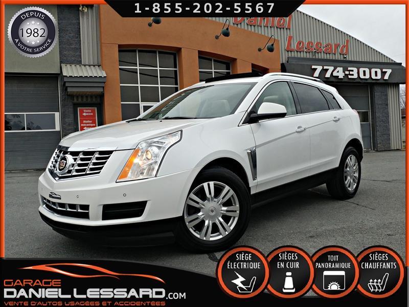 Cadillac SRX 2013 LUXURY, AWD, TOIT PANO, HAYON MÉCANIQUE, CAMÉRA #38558