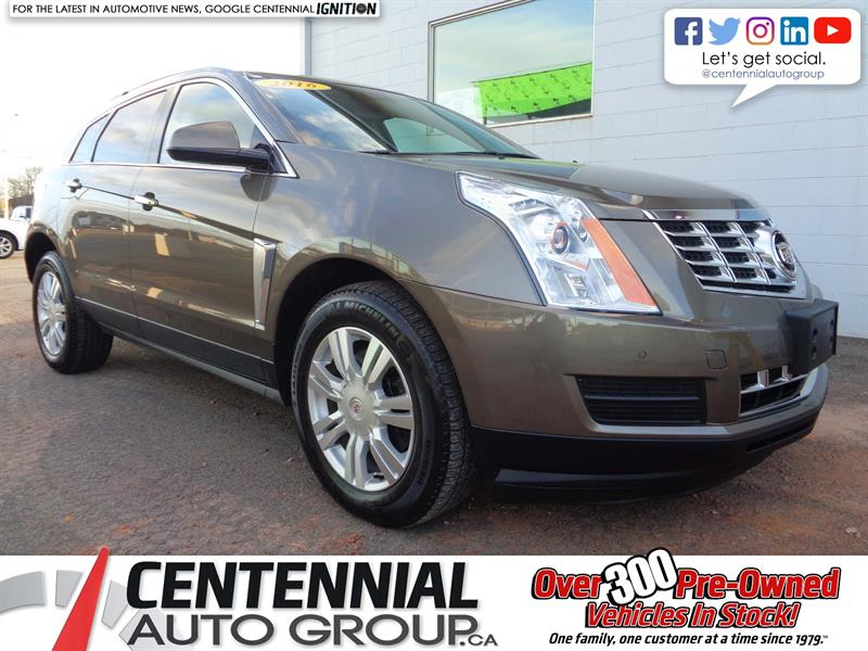 2016 Cadillac SRX Lux | AWD | Leather | Nav | Bluetooth | Moonroof #18-387A