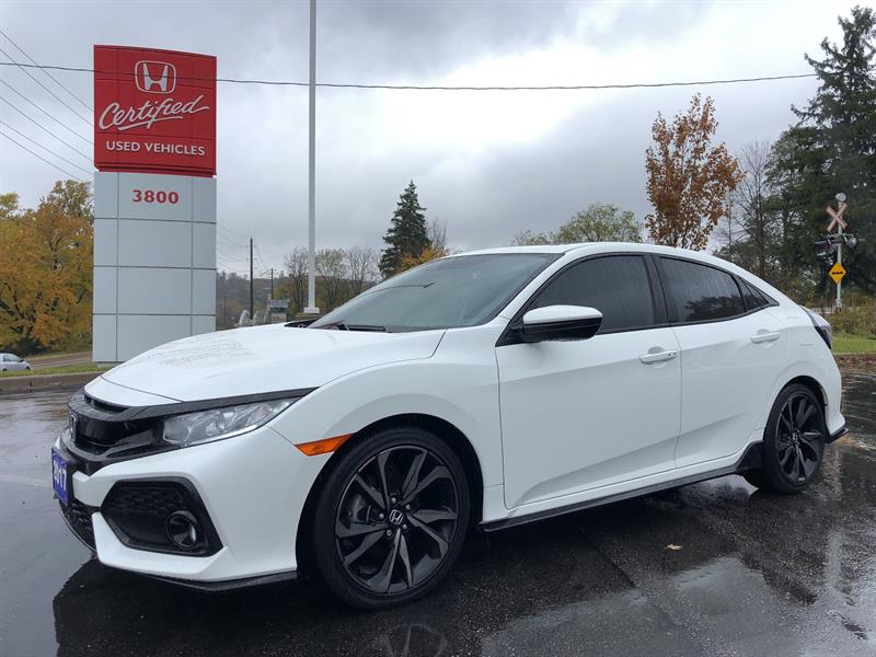 2017 Honda Civic Hatchback Sport #UC1423