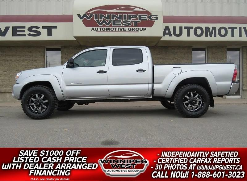 2013 Toyota Tacoma DOUBLE CAB V6 4X4, LOADED, CLEAN LOCAL TRADE #GW4291