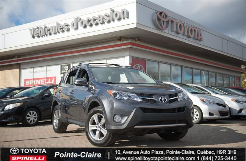 Toyota Pointe Claire >> 2015 Toyota Rav4 Xle Awd Toit Mags Demarreur A Distance Used