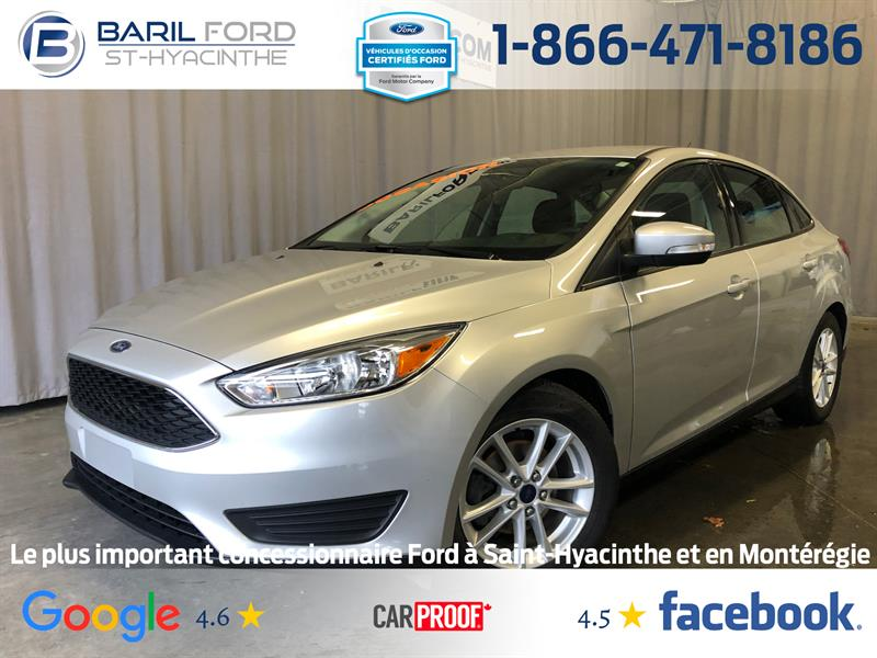 Ford Focus 2016 4dr Sdn SE #80504A