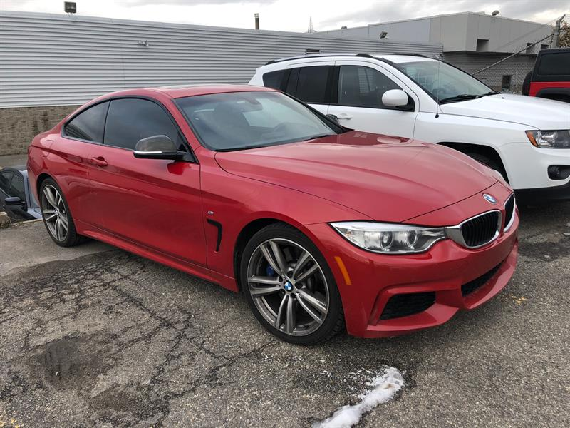 BMW 4 Series 2014 2dr Cpe 435i xDrive AWD+M PACKAGE+TOIT+CUIR+AWD+ #UD4868A