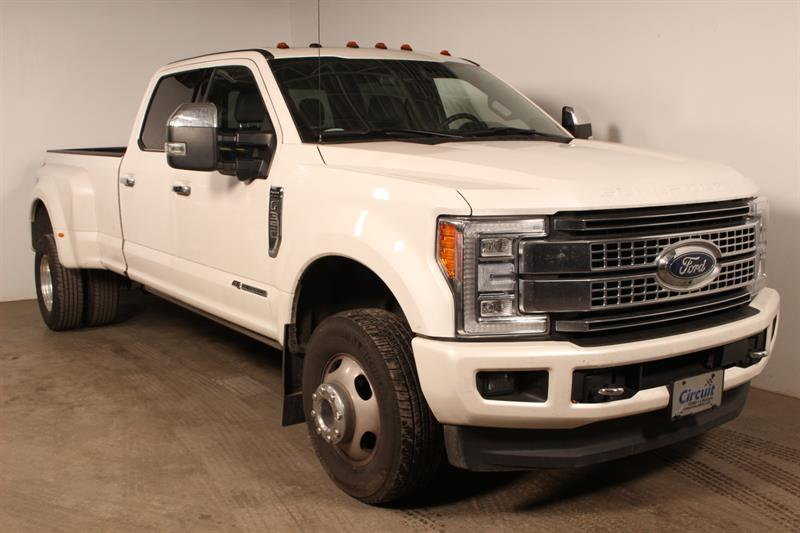 Ford Super Duty F-350 DRW 2017 Double Roue**PLATINIUM**Diesel #90263a