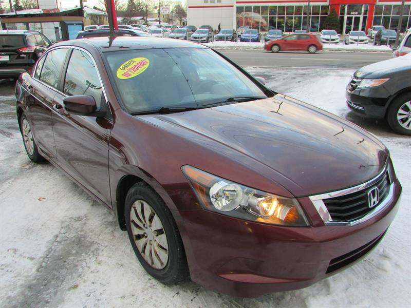 Honda Accord 2009 LX AUTOMATIQUE **BAS KM** #14358A