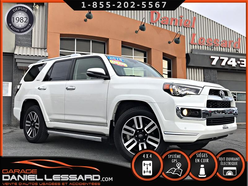Toyota 4Runner 2016 LIMITED, CUIR, 7 PLACES, TOIT OUVRANT, MAG 20 P #68476