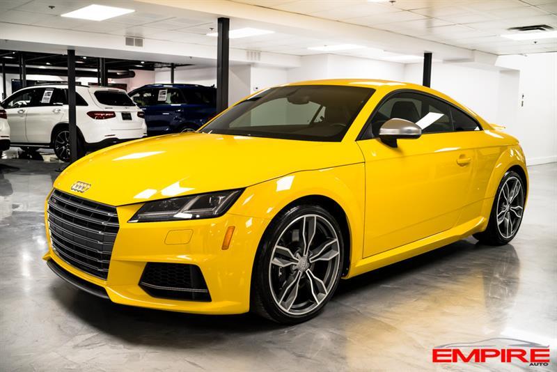 2016 Audi TTS TTS QUATTRO S TRONIC #A6984