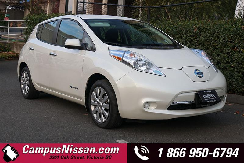 2016 Nissan Leaf S w/ Quick-Charge #JN3073