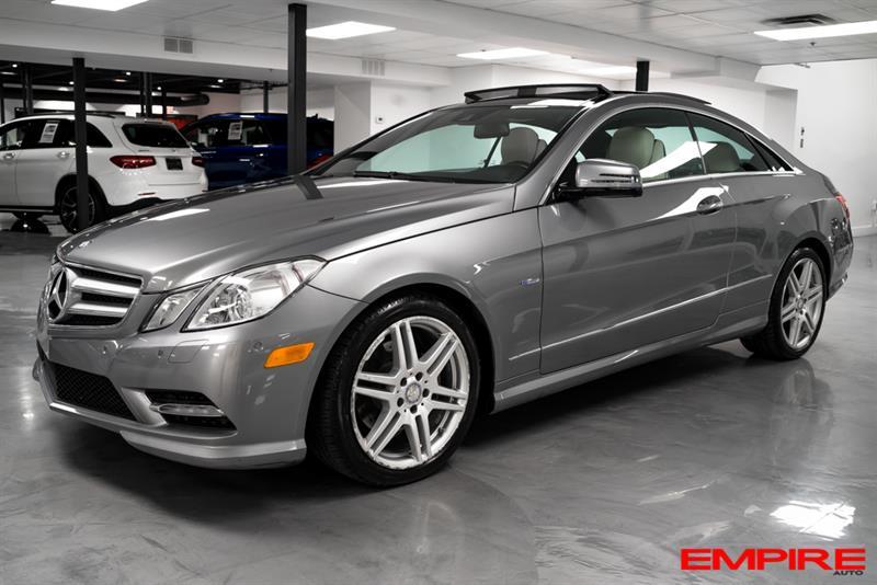 Mercedes-Benz Classe-E 2012 E350 4MATIC COUPE DESIGNO #SN347