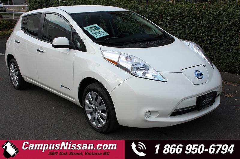 2015 Nissan Leaf S w/ Quick-Charge #JN3059