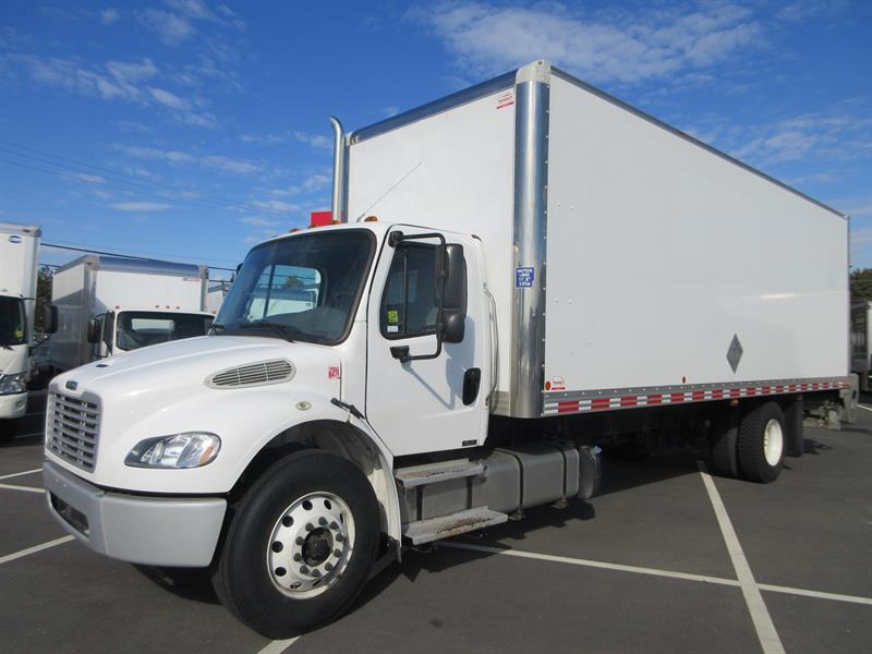 2016 Freightliner M2-106  26Ft Van Body #U7105, U7131