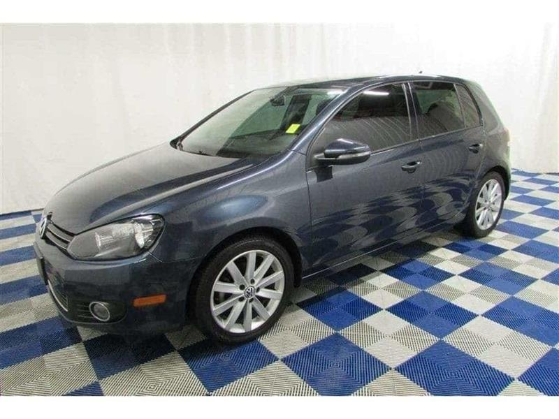 2012 Volkswagen Golf 2.5L Highline/ONE OWNER/SUNROOF/LEATHER #12VG24595