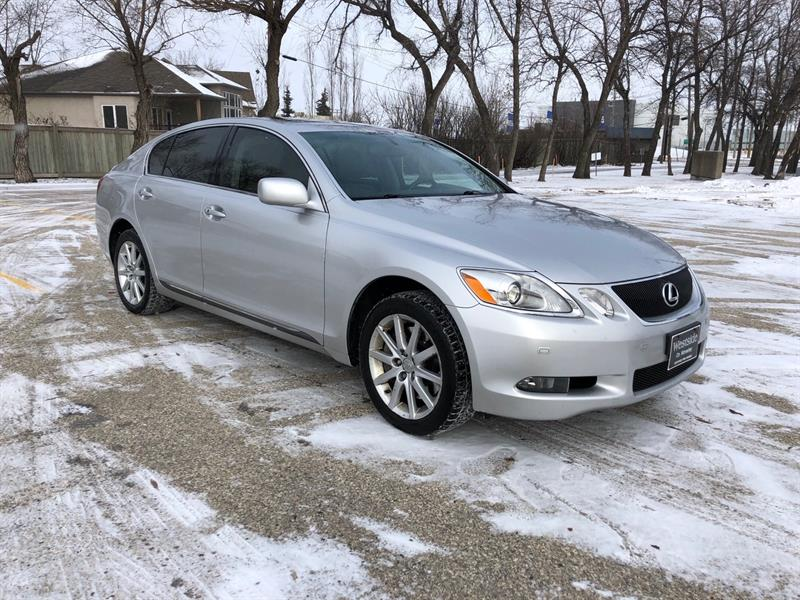 2007 Lexus GS 350 Fully Loaded  AWD V6 Safetied #CONS.10