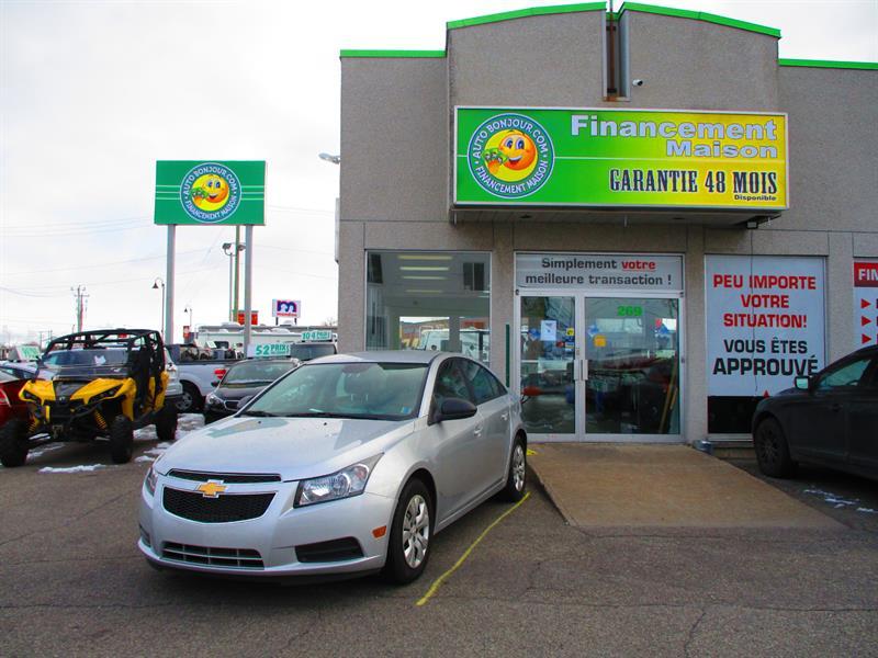 Chevrolet Cruze 2013 4dr Sdn LS w-1SA #18009