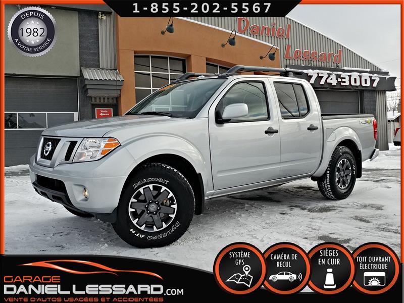 Nissan Frontier 2018 PRO-4X, CREW CAB, CUIR, GPS, CAMERA #88563