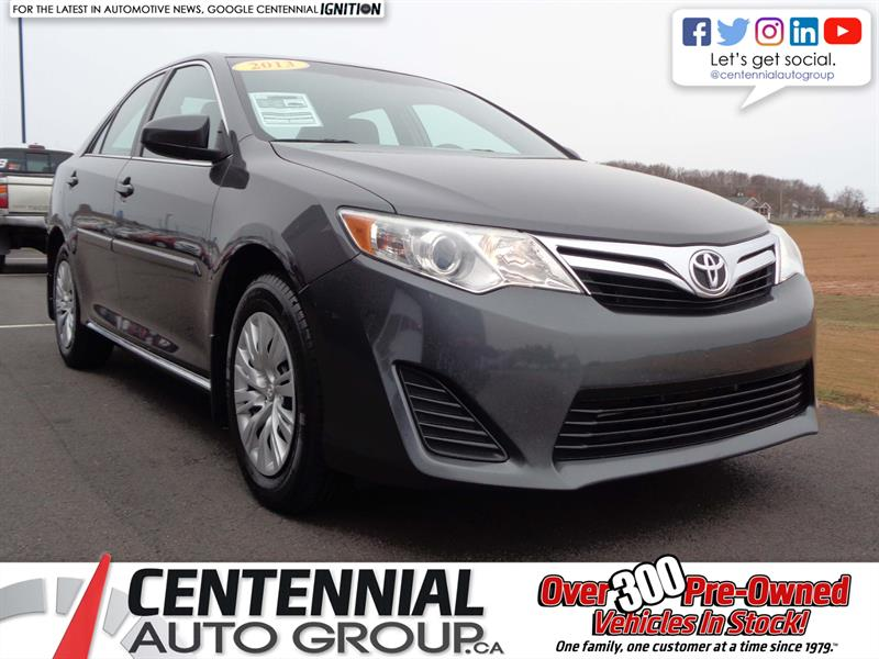 2013 Toyota Camry LE | LOCAL TRADE | #S18-007B