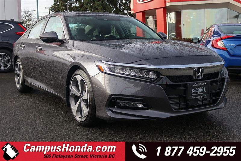 2018 Honda Accord Touring 1.5L Sedan Navigation Bluetooth #18-0244