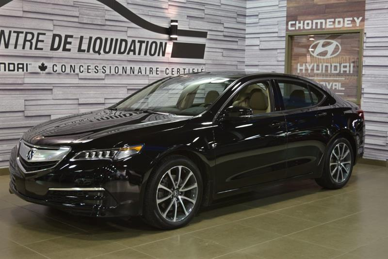 Acura TLX 2015 ELITE+AWD+GPS+CUIR+TOIT OUVRANT #S8690***L