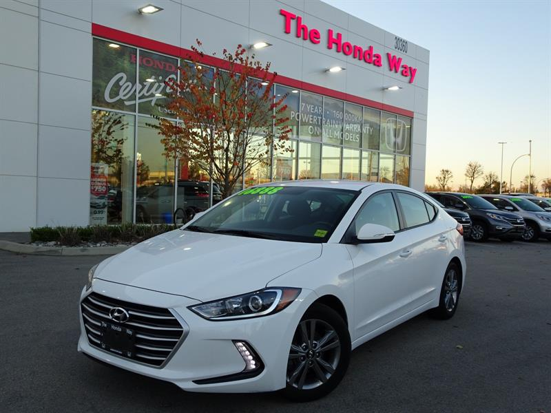 2017 Hyundai Elantra Limited - BLUETOOTH, B/U CAMERA, HEATED FRONT SEAT #18-917A