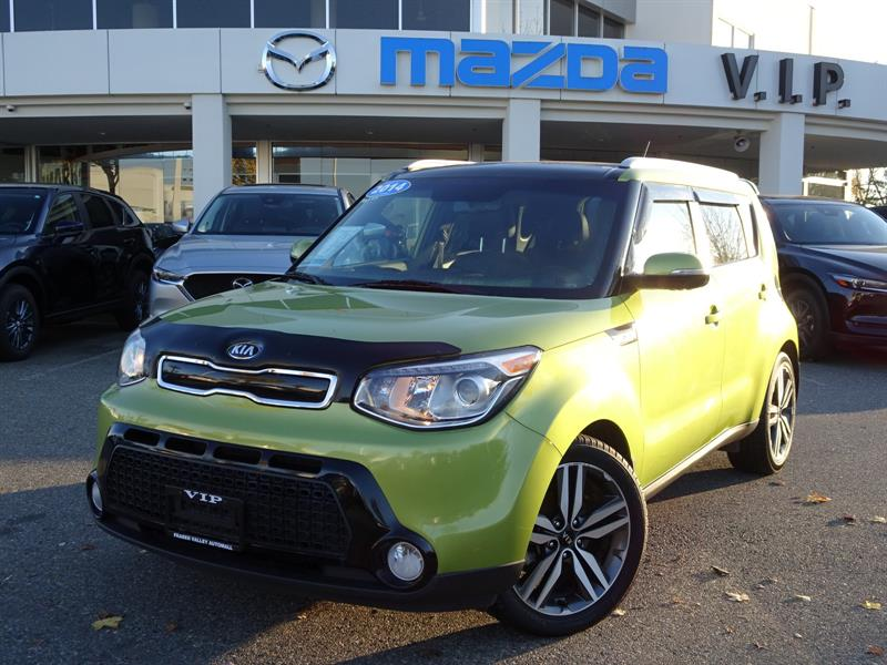 2014 Kia Soul SX GDI, LEATHER #8587A