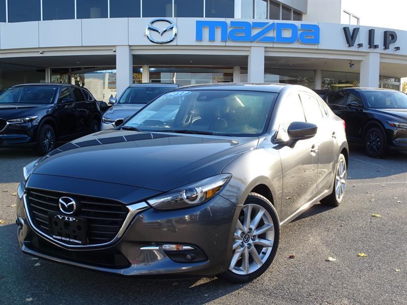 2017 Mazda MAZDA3 GT, AUTO, A/C, CLOTH #B8611