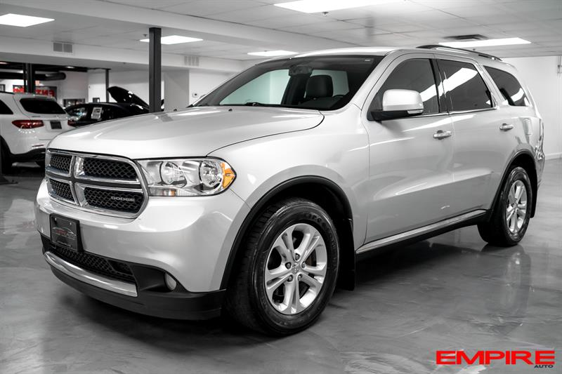 Dodge Durango 2011 4WD Crew Plus #A6897