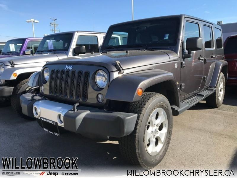 2014 Jeep Wrangler Unlimited Sahara #18J113A