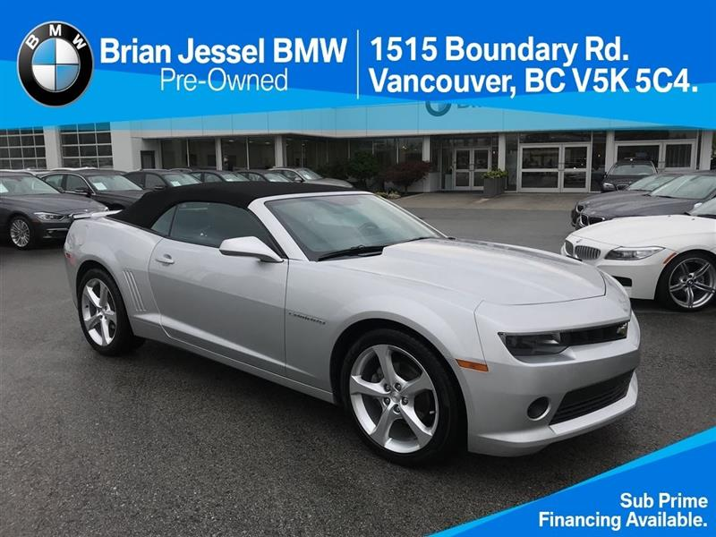 2015 Chevrolet Camaro Convertible 2LT #BP661110